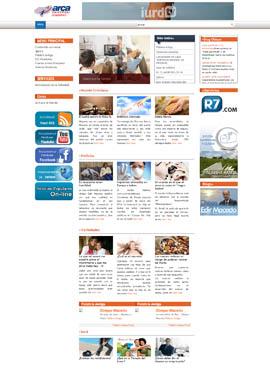 Diseño de paginas web El Salvador  Arca Universal Honduras