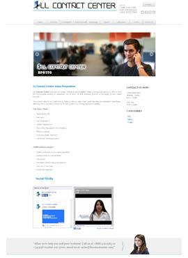 Diseño de paginas web El Salvador  LL Contact center