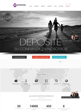 Diseño de paginas web El Salvador  Coaseguros.net