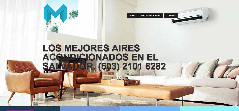 Social media – Marketing Digital El Salvador  MITRA: construccion, arquitectura y climatizacion con aires acondicionados el salvador