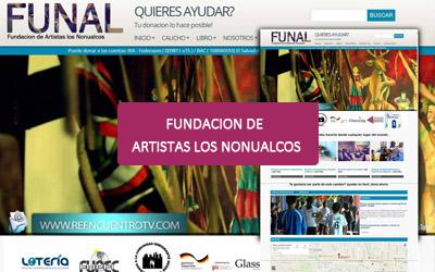 Paginas web para FUNAL